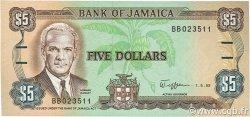 5 Dollars JAMAÏQUE  1989 P.70c NEUF