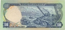 10 Dollars JAMAÏQUE  1970 P.57 TTB