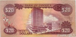 20 Dollars JAMAÏQUE  1976 P.63 TB+