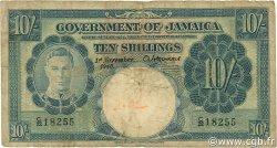 10 Shillings JAMAÏQUE  1940 P.38b B