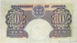 10 Shillings JAMAÏQUE  1958 P.39 TTB+