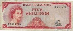 5 Shillings JAMAÏQUE  1961 P.49 TB