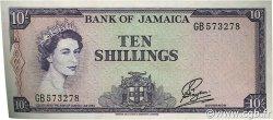 10 Shillings JAMAÏQUE  1961 P.50 SUP+
