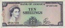 10 Shillings JAMAÏQUE  1964 P.51Bb TTB