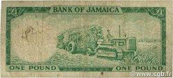 1 Pound JAMAÏQUE  1961 P.51 B+