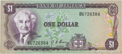1 Dollar JAMAÏQUE  1970 P.54 TTB+