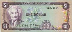 1 Dollar JAMAÏQUE  1976 P.59a SUP