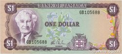 1 Dollar JAMAÏQUE  1982 P.64b NEUF