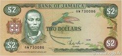 2 Dollars JAMAÏQUE  1986 P.69b NEUF