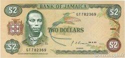 2 Dollars JAMAÏQUE  1992 P.69d NEUF
