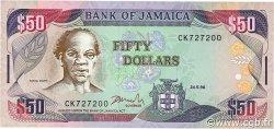 50 Dollars JAMAÏQUE  1996 P.73d NEUF