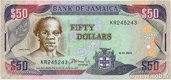 50 Dollars JAMAÏQUE  2005 P.83c SUP