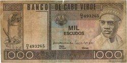 1000 Escudos CAP VERT  1977 P.56a B