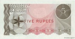 5 Rupees  SEYCHELLES  1968 P.14a NEUF