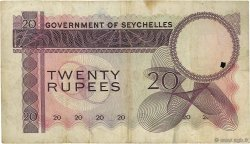 20 Rupees SEYCHELLES  1968 P.16a TB