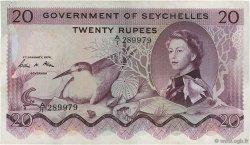 20 Rupees SEYCHELLES  1974 P.16c TTB+