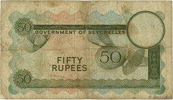 50 Rupees SEYCHELLES  1970 P.17c B+