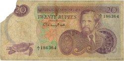 20 Rupees SEYCHELLES  1977 P.20a B