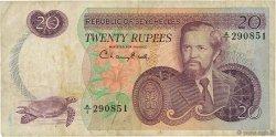 20 Rupees SEYCHELLES  1977 P.20a TB