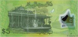 5 Ringgit - 5 Dollar BRUNEI  2011 P.36 NEUF