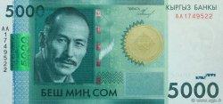 5000 Som KIRGHIZSTAN  2009 P.30a NEUF