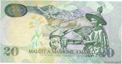 20 Maloti LESOTHO  2007 P.16f NEUF