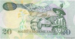 20 Maloti LESOTHO  2009 P.16g NEUF