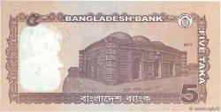 5 Taka BANGLADESH  2011 P.53a NEUF