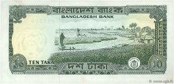 10 Taka BANGLADESH  1972 P.11b pr.SUP