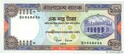 100 Taka BANGLADESH  1983 P.31b SPL