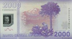 2000 Pesos CHILI  2009 P.162 NEUF