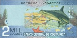 2000 Colones COSTA RICA  2009 P.275 NEUF