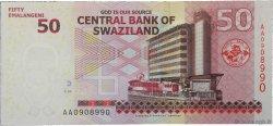 50 Emalangeni SWAZILAND  2010 P.38a NEUF