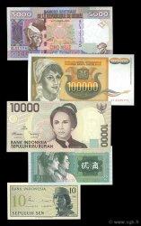 Lot de 5 billets LOTS  1964 P.LOT NEUF