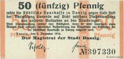 50 Pfennig DANTZIG  1916 P.06 pr.NEUF