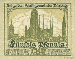 50 Pfennig DANTZIG  1919 P.12 NEUF