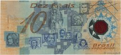 10 Reais BRÉSIL  2000 P.248b TB