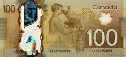 100 Dollars CANADA  2011 P.110a NEUF