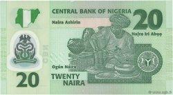 20 Naira NIGERIA  2009 P.34e NEUF