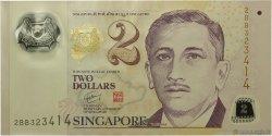 2 Dollars SINGAPOUR  2005 P.46 SPL+