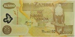 500 Kwacha ZAMBIE  2006 P.43e NEUF
