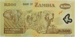 500 Kwacha ZAMBIE  2004 P.43c NEUF