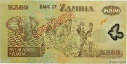 500 Kwacha ZAMBIE  2003 P.43s NEUF