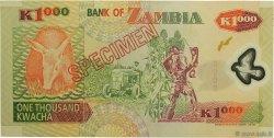 1000 Kwacha ZAMBIE  2003 P.44s NEUF