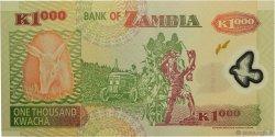 1000 Kwacha ZAMBIE  2006 P.44e NEUF