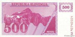 500 Tolarjev SLOVÉNIE  1990 P.08a NEUF
