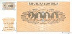 2000 Tolarjev SLOVÉNIE  1991 P.09A NEUF