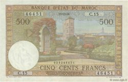 500 Francs MAROC  1956 P.46 pr.NEUF