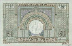 50 Francs type 1935 MAROC  1947 P.21 SPL+