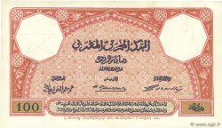 100 Francs 1920 MAROC  1921 P.14 TTB à SUP